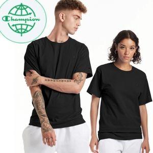 Champion Breathable Activewear Tee Shirt Black L